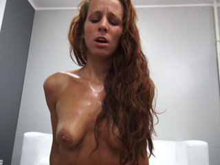 Passionate Redhead Gets Hard Fuck with..